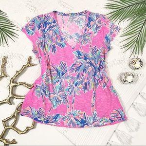 Lilly Pulitzer Michelle V- neck Shirt